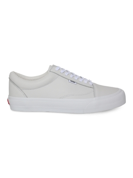 White Leather Vault Old Skool LX Sneakers