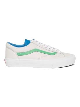 UA Style 36 VLT LX Low-Top Sneaker True White