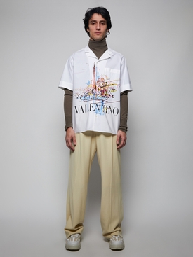 Roman Sketches Shirt, white
