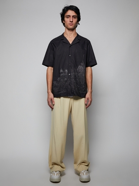 Roman Sketches Shirt, black