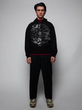 Cosmos print hoodie