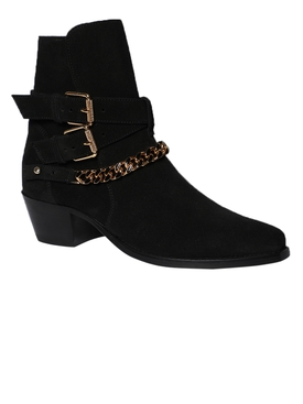 Suede Jodhpur Chain Boot