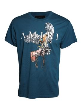 Falcon T-shirt Petrol Blue