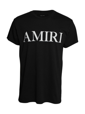 Stitch Amiri T-shirt Black