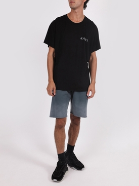Flower Graphic T-shirt, Black