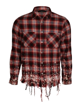 Bleached Flannel Red