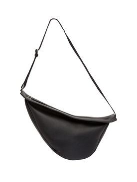 Large Slouchy Banana Handbag BLACK