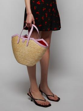 MADELINE STRAW BASKET BAG