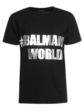 Hashtag Logo T-shirt BLACK