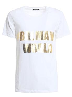 Hashtag Logo T-shirt WHITE