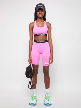 Classic Logo Cycling Shorts Hot Pink