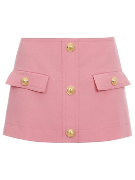 LOW-RISE MINI SKIRT ROSE PINK