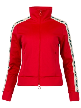 Laurel Tracksuit Top Jacket Red
