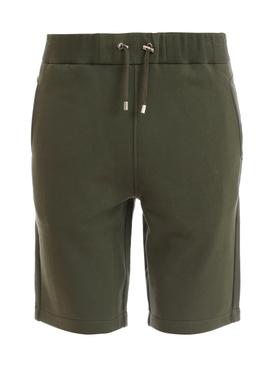 Flock Bermuda shorts Khaki Green