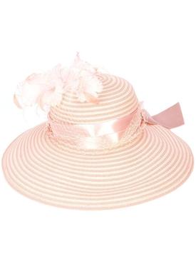 Pink Tropical Vine Hat