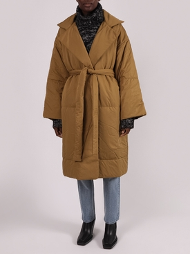 Cider MATTE PUFFER LONG COAT