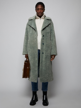 Teddy Bear Coat, Sage