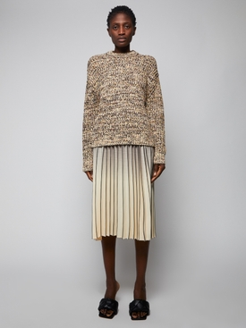 Mixed Yarns Knit Top
