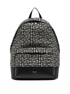 1945 City Backpack Black and White