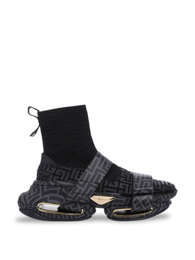 B-Bold Strap High Top Sneaker Black
