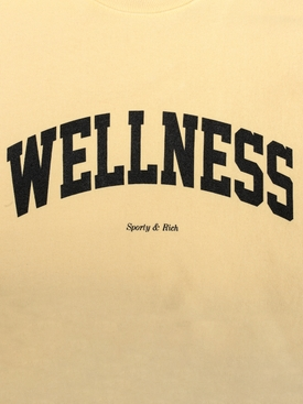 Wellness Ivy Crewneck Sweatshirt CREAM/BLACK PRINT