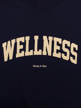 Wellness Ivy Crewneck Sweatshirt NAVY/CREAM PRINT