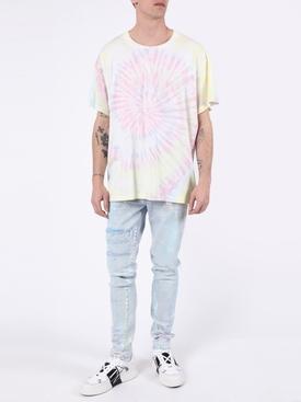 Pastel tie dye t-shirt crewneck t-shirt