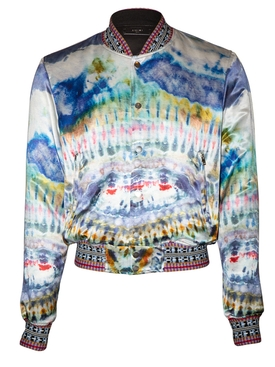 Amiri - Multicolored Tie-dye Bomber Jacket - Men