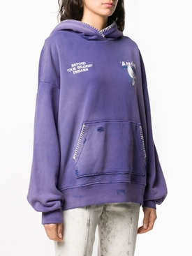 OVERSIZED ETERNAL DOVE HOODIE