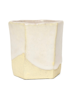 Raw Ground Clay Glass Yellow
