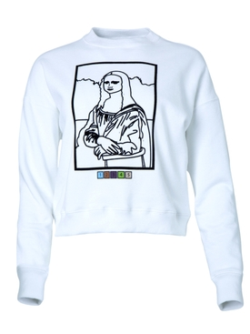 Monalisa paint by numbers sweater