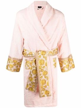 I LOVE BAROQUE BATHROBE Pink and Gold