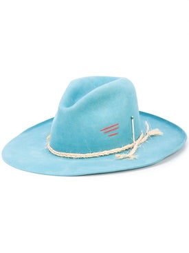 Nick Fouquet - Distressed Rope Detail Hat - Women