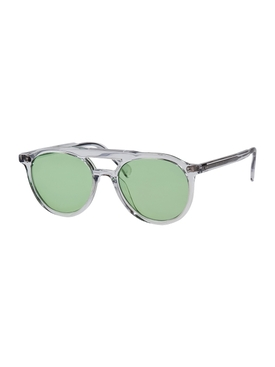 AVIATOR EARTH GREEN SUNGLASSES