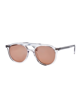 AVIATOR FIRE RED SUNGLASSES