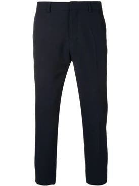 Ami Alexandre Mattiussi - Cropped Fit Trousers Navy - Men