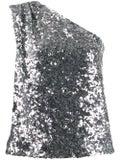 Halpern - One-shoulder Sequin Top - Women
