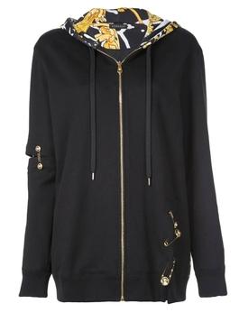 Medusa safety pin hoodie