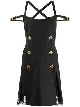 Versace - Bondage Accent Dress - Women