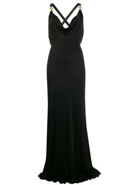 Versace - Long Medusa Gown Black - Women