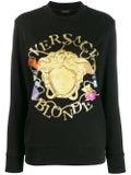 Versace - Multicolored Medusa Print Sweatshirt - Women