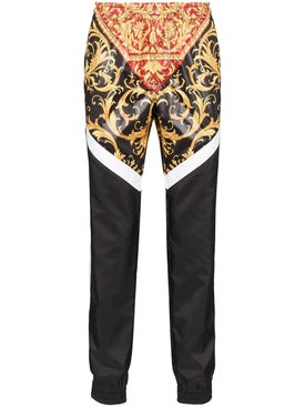 Versace - Paneled Baroque Print Track Pants - Men