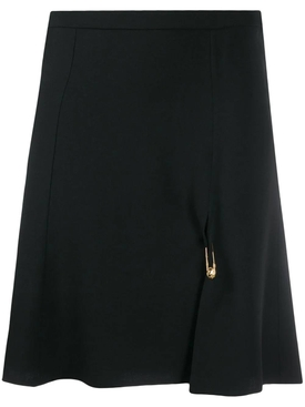 Medusa pin skirt black