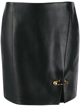 Versace - Safety Pin Mini Skirt - Women