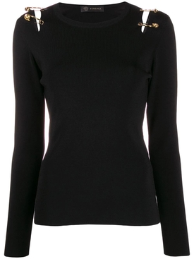 Safety pin cut-out top