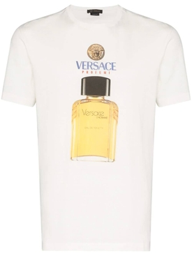Versace - Cologne Logo Graphic T-shirt - Men