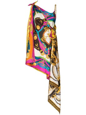 Versace - Silk Multi-print Dress - Women