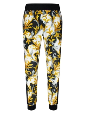 Acanthus print track pants
