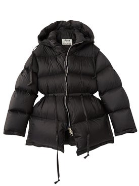 Acne Studios - Quilted Down Jacket Black - Women