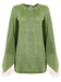 Attico - Feathered Sleeve Knitted Dress - Women